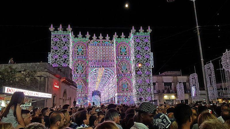 Le luminarie di Scorrano: una magia che si ripete ogni anno
